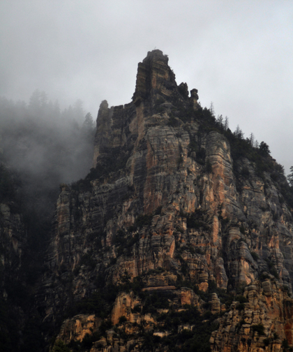 Sedona Red Rocks on a Rainy Day1