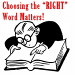 #MVP | Choosing the RIGHT Word Matters!